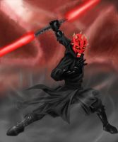 Darth Maul by P1xelated