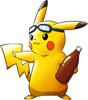 Commander Pikachu! by Sarcallow