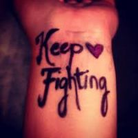 keep fighting by godzillarules10