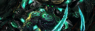 Illidan Stormrage Signature by Loupu