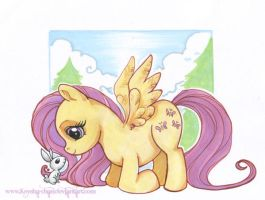 MLP:Fim Fluttershy by KeyshaKitty