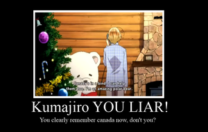 Kumajiro is a Big Liar!! by FunkyDreamer