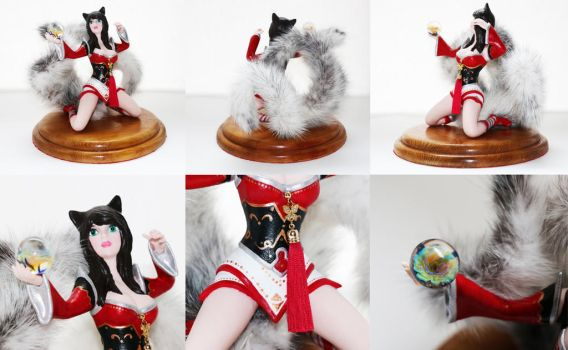 Ahri's figure pose 2 (updated version) by Lanasu57
