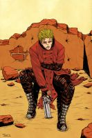 TRIGUN - let's take a break by FerioWind