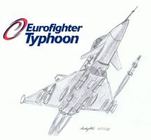 Eurofighter Typhoon by NDTwoFives