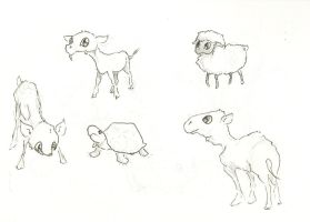 more baby farm animals by atnason