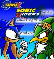 Sonic Rider, Final Act by Okida