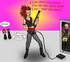 Guitar Hero Axel by Chiliean-Chan
