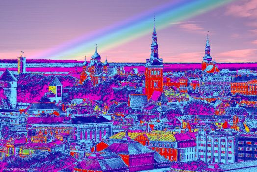 Tallinn Rainbow by riazy2k2002