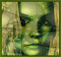 Green Girl by Brigitte-Fredensborg