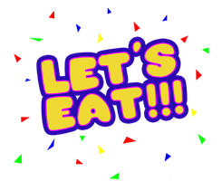Five Nights at Freddy's Let's Eat! shirt design by kaizerin