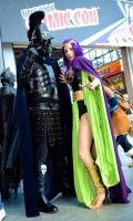 Ares and Circe head to toe at NYCC 2013 by cosplaynut