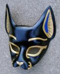 Bast...Handmade Leather Mask by merimask