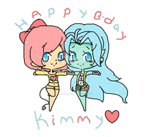 Happy B-day Kimmy by Chibii-chii