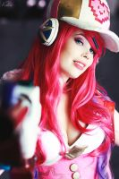 Arcade Miss Fortune Cosplay League of Legends by KawaiiTine
