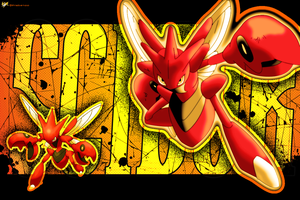 Scizor Wallpaper by thisbemoo