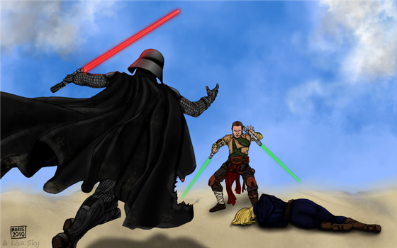 Darth Vader Force Unleashed by ActorzInc