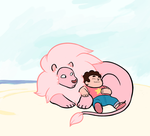 Some Fat Kid And His Dog.png by Pandadrake