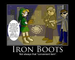 Iron Boots by Haayls