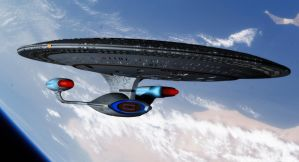 USS Enterprise NCC-1701-D by thefirstfleet
