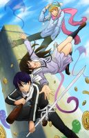 Noragami Together by kidoairaku