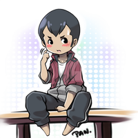Norman chibi by KenPan
