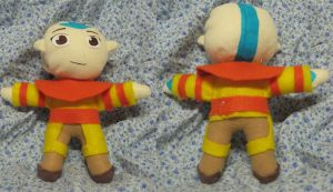 Plushie Aang by purenightshade