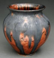 smudged vase by cl2007