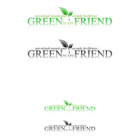 Green is my Friend logo by EDLdesign