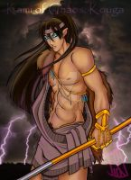 Kami of Chaos: Kouga by sugar0o
