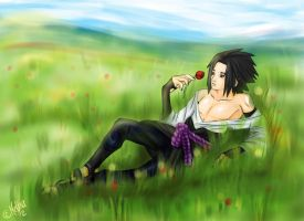 Summer Time - Sasuke by Melina-selon-Ally
