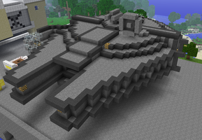 Millennium Falcon  Minecraft by Arc1160