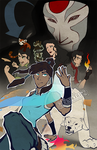 The Legend of Korra by Eevachu