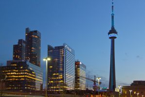 Toronto Skyline by vmulligan