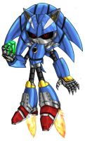The New Metal Sonic by Elden-rucidor