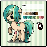 Random Pony Adopt Auction - CLOSED by EmberAdopts