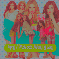 Pack 002 / 4 png lucy hale y ahley benson HQ by ValeVelez-222