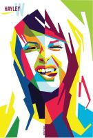 Hayley William in WPAP by Edho by edhoartwork