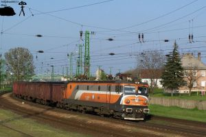 Asea loco with freigh train in Komarom on 2010 by morpheus880223