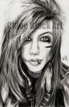 Andy Biersack by ItsCloctorArt