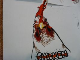 The First Chicken by Mithxis