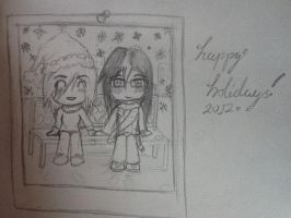 Christmas photo: traditional media by TheSilentArtist2225