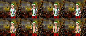 Christmas event at Nathaniel's french FC by CaptainY