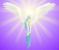 Celestia, Godess of the Sun by Runic-Scribe