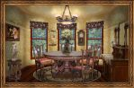 Victorian Dining Room by OokamiKasumi