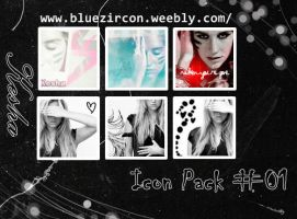 Kesha Icon Pack 01 by bluezircon-graphics