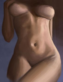 Girl Study 2 by szander