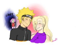 NaruIno love aura by Foxzygrin