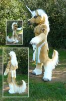 Palomino Unicorn by LilleahWest
