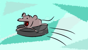 Hockey Mouse by jkire